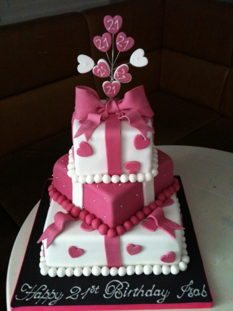 21th Birthday Cake For Your Lovely Girl Home Design Studio