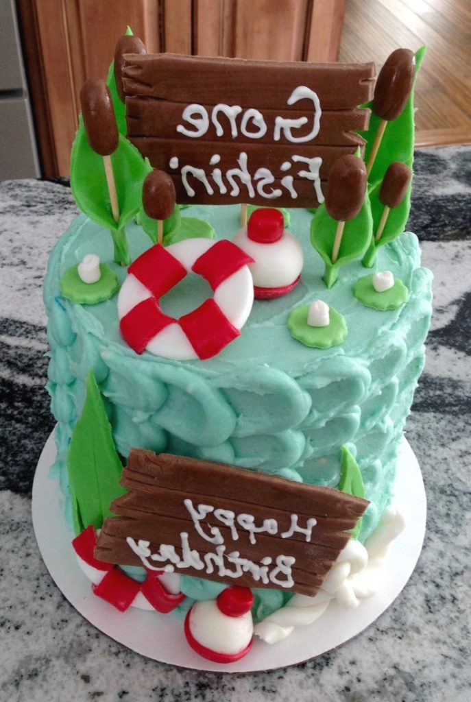 Best 25 Fishing Birthday Cakes Ideas On Pinterest Fish