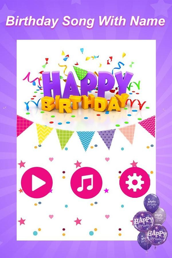 Birthday Song With Name For Android Free Download And