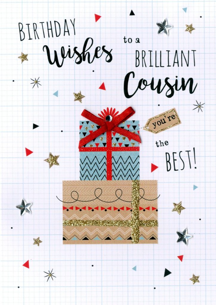 Cousin Birthday Greeting Card Cards