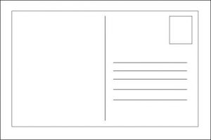 FREE 18 Printable Postcard Templates In PSD PDF MS Word