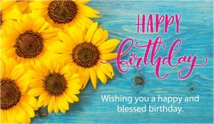 Free Happy Birthday Blessed And Happy ECard EMail Free