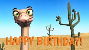 Funny Happy Birthday Song Ostrich And Dodo Sing Happy