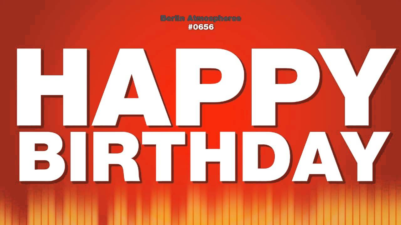 Happy Birthday Male Voice Speaks YouTube