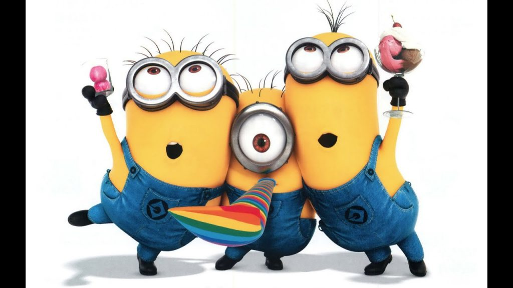 Happy Birthday Minions Sing YouTube