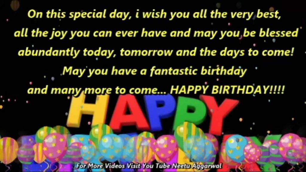 Happy Birthday Wishes Greetings Quotes Sms Saying E Card