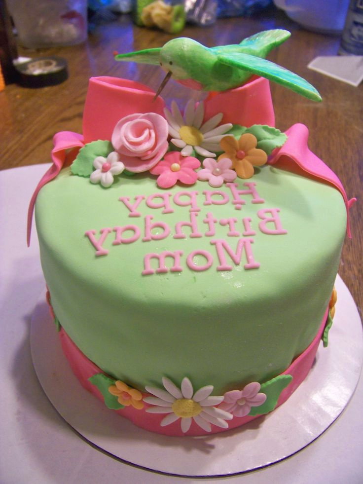 Hummingbird Birthday Cake Birthday Cake For Mom Mom