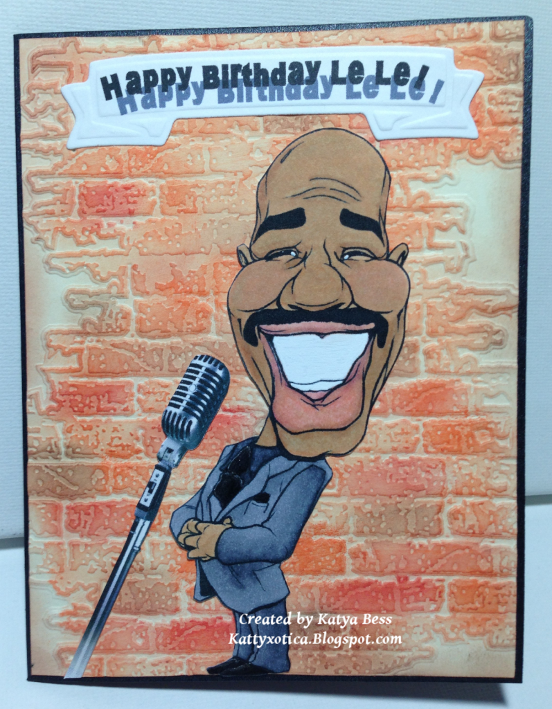 Kattyxotica s Kreations Steve Harvey Happy Birthday