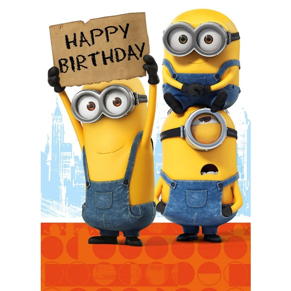 Minion Happy Birthday Card Smyths Toys