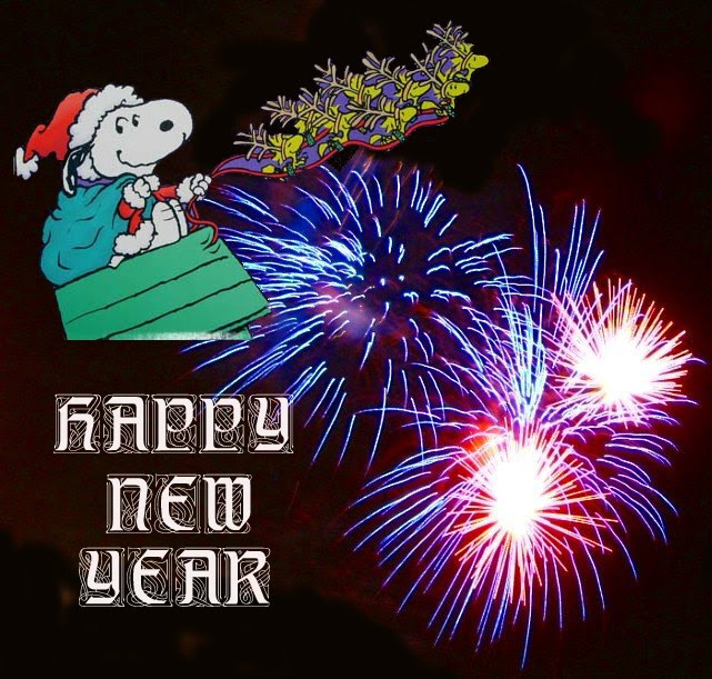 New Year Cards Snoopy New Year Wishes