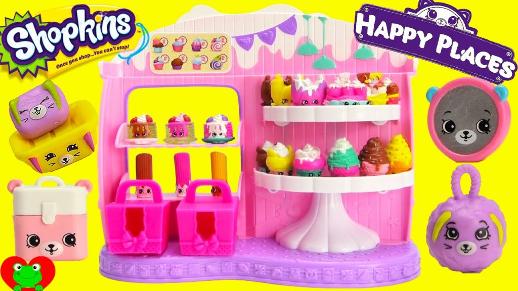 Shopkins Frosted Cupcake Queen Cafe With Happy Places