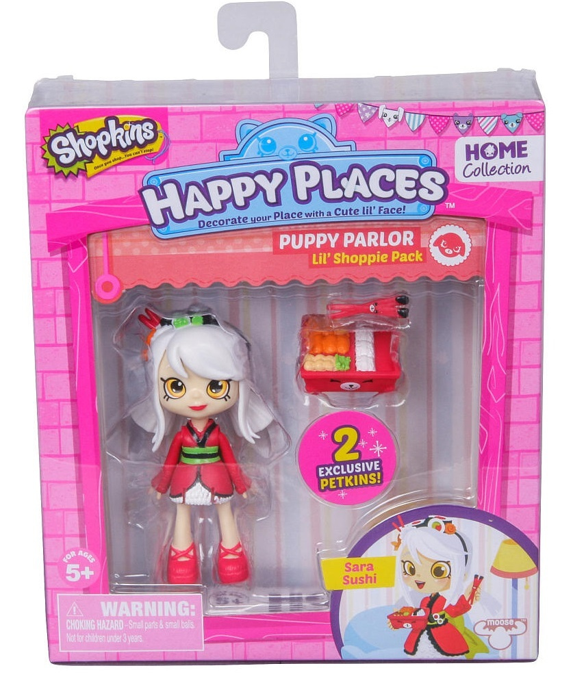Shopkins Happy Places Sara Sushi Doll Toy At Mighty