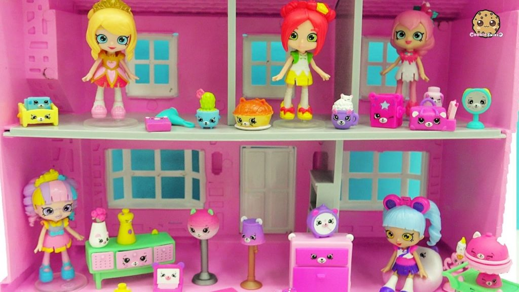 Shopkins Happy Places Shoppies Dolls Kitty Dinner Party