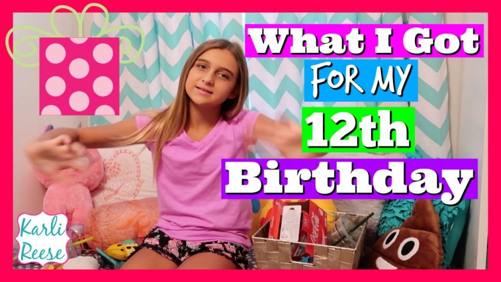 WHAT I GOT FOR MY 12TH BIRTHDAY HAUL YouTube