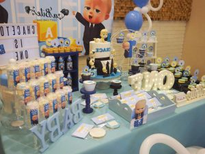 Boss Baby Birthday Party Ideas Photo 9 Of 9 Catch My Party