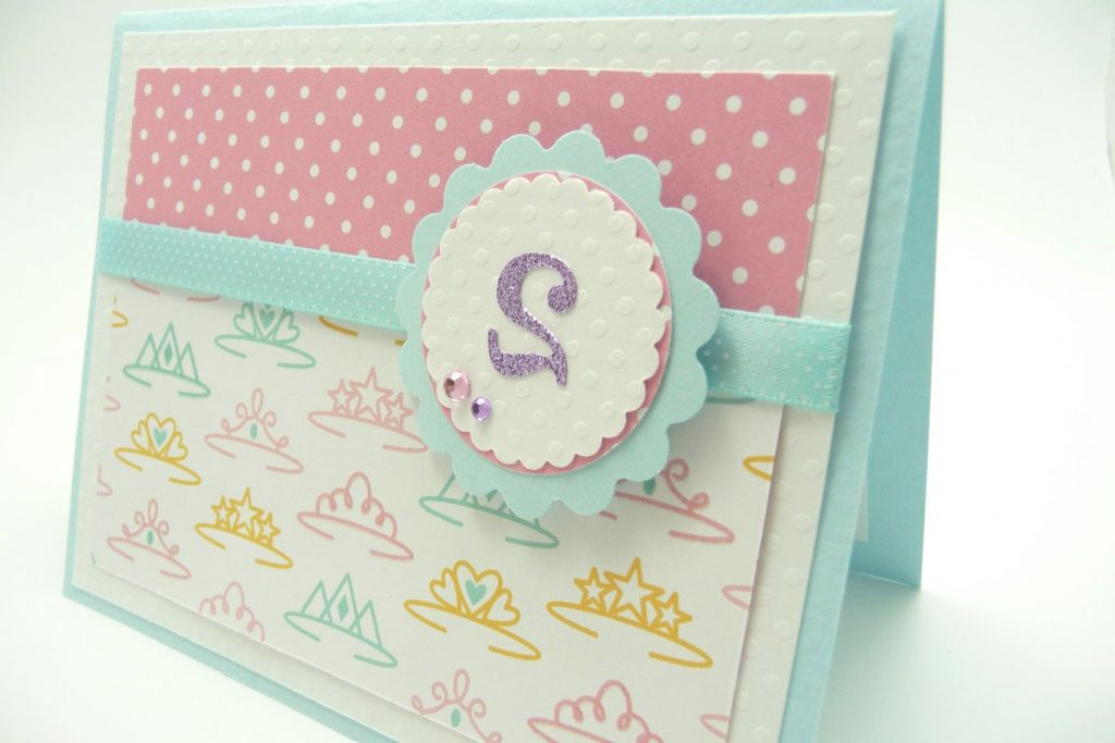 Girl s 2nd Birthday Greeting Card Princess Birthday Card