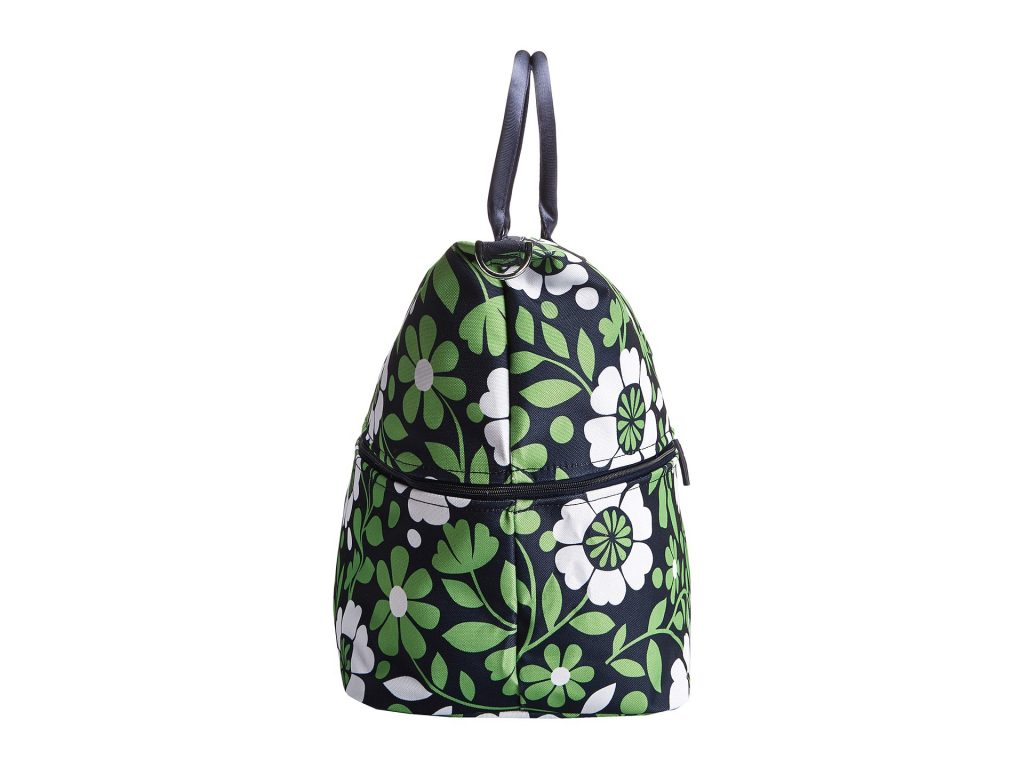 Vera Bradley Lighten Up Expandable Travel Bag In Green Lyst
