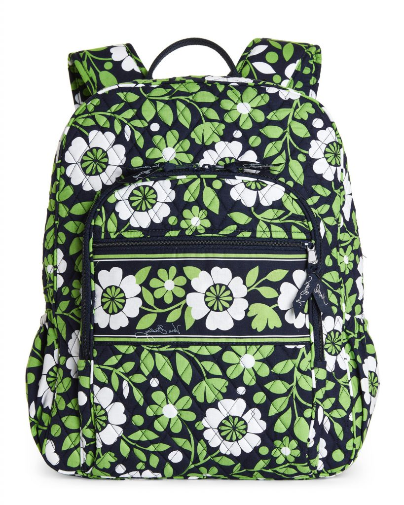 Vera Bradley Lucky You Campus Backpack In Green Lyst