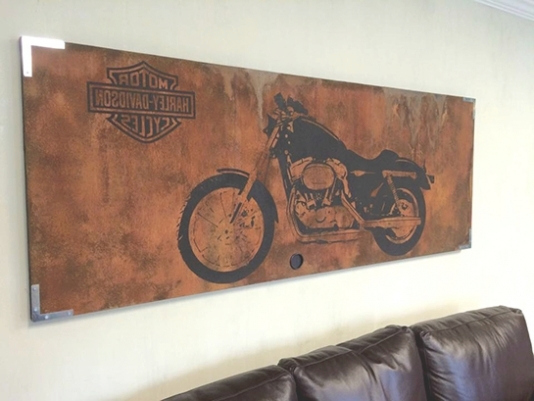 34 Best Ideas Of Harley Davidson Wall Art