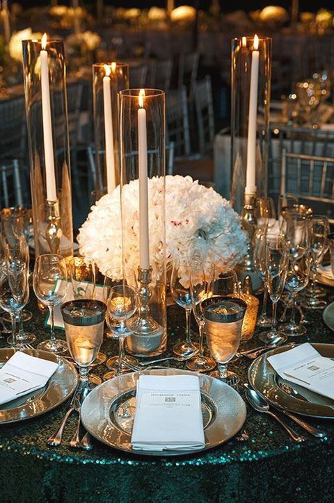 37 Art Deco Wedding Centerpieces That Inspire Art Deco