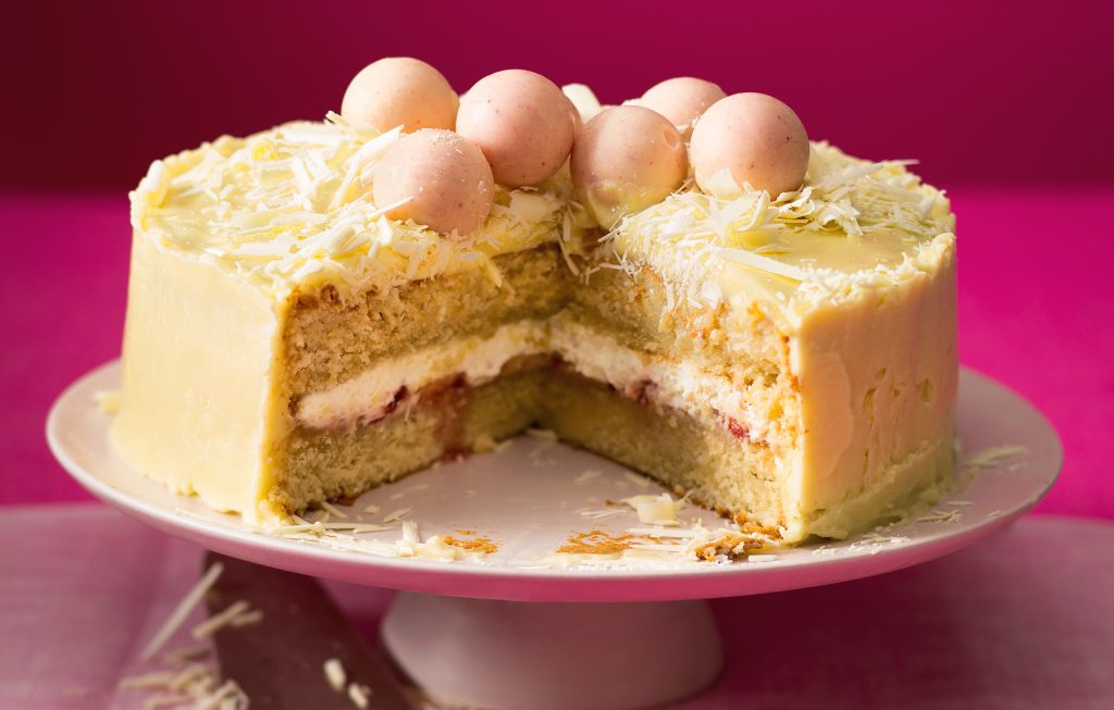 White Chocolate Birthday Cake Baking Recipes GoodtoKnow