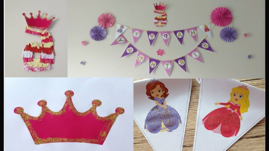 Diy Easy Birthday Party Decorations With Paper How To