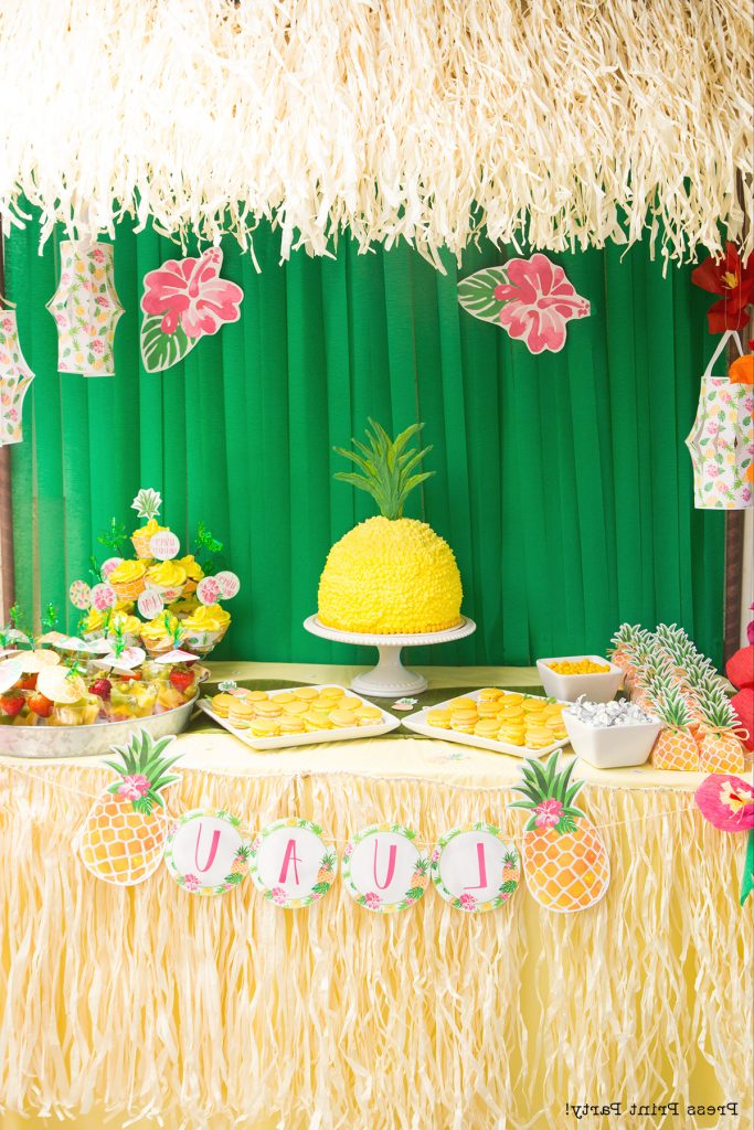 Sweet Party Like A Pineapple Birthday Party Luau