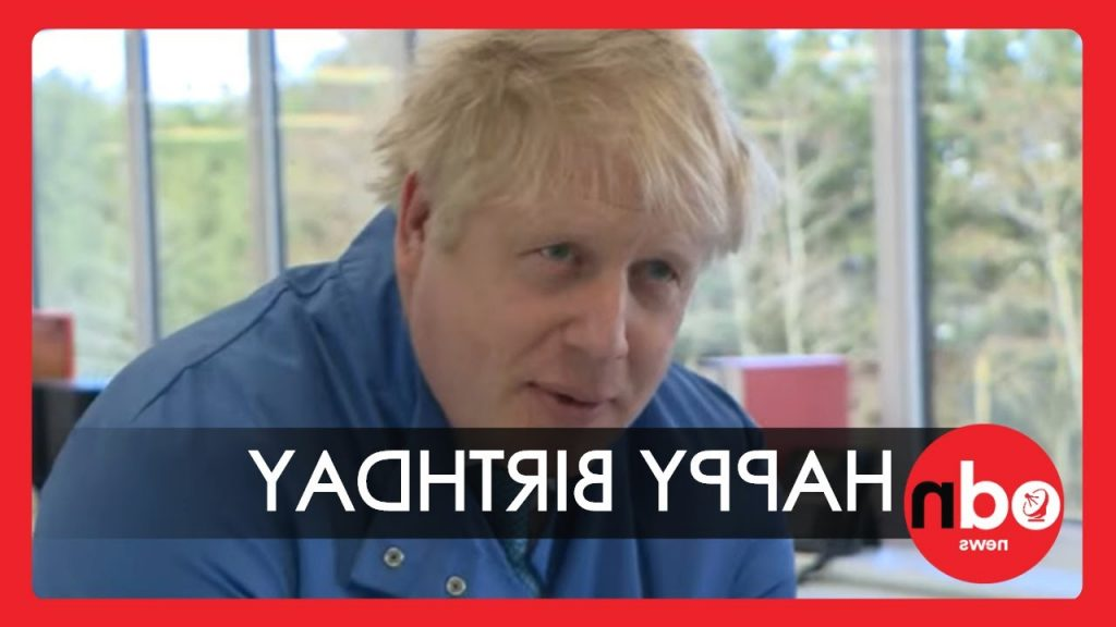 Coronavirus Boris Johnson Washes Hands While Singing