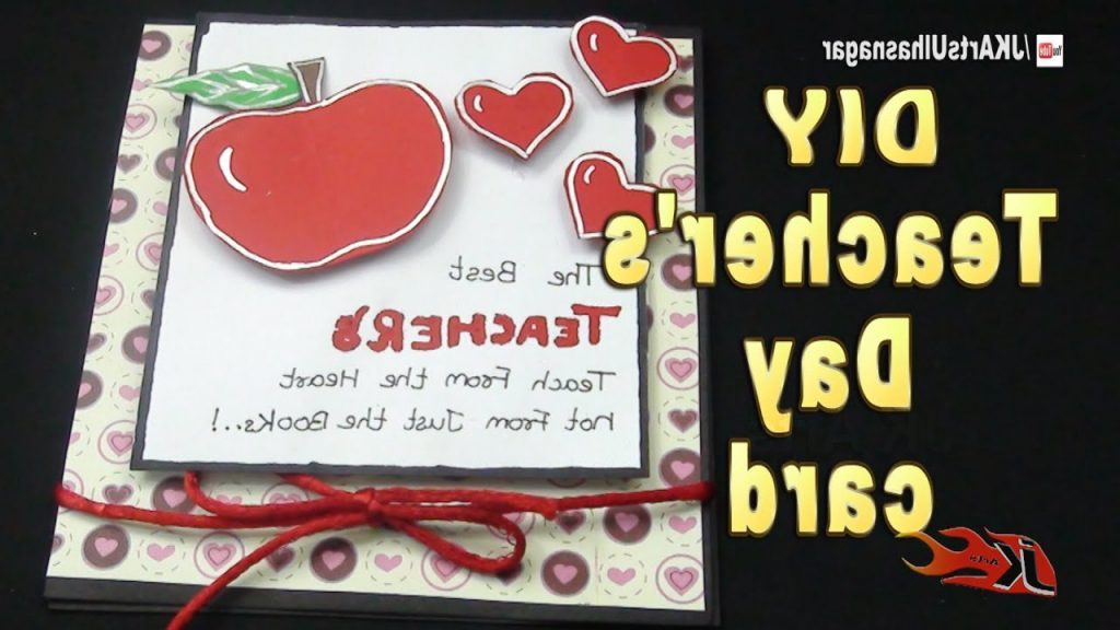 DIY Easy Teacher s Day Greeting Card How To Make JK