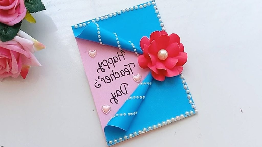 DIY Teacher s Day Card Handmade Teachers Day Card Making