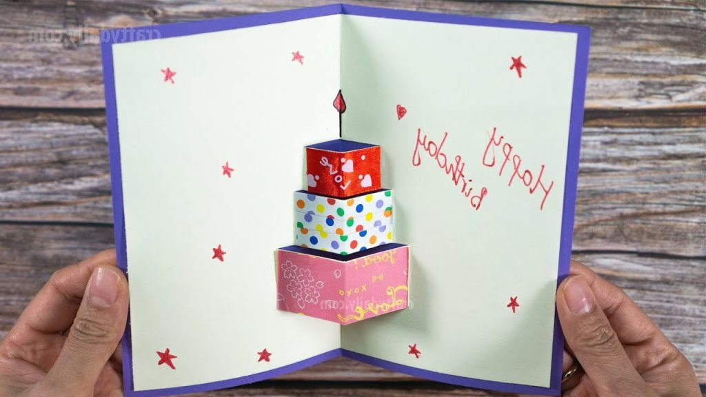 How To Make Happy Birthday Card Happy Birtday Greeting