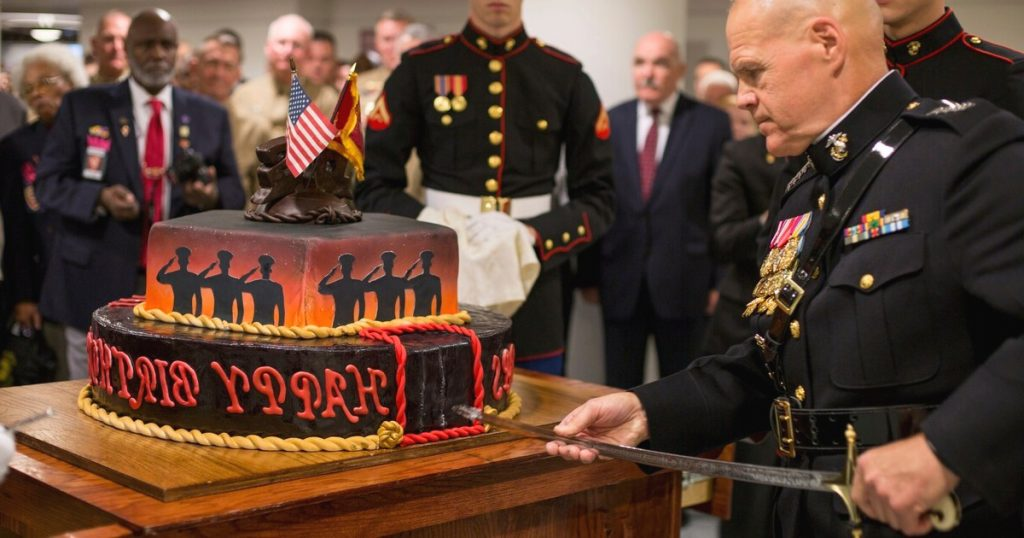 To Corps Country And Each Other Top Marine s Birthday